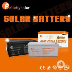 200ah 12v Gel Battery   Solar Energy for sale in Lagos State, Ojo