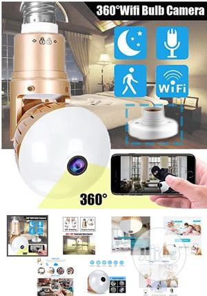 360 Panoramic Wifi Fisheye Spy Hidden Cameras With Night Vision Motion | Security & Surveillance for sale in Lagos State, Ikeja