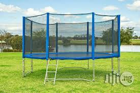 New 12ft Trampoline Set With Ladder   Sports Equipment for sale in Rivers State, Port-Harcourt