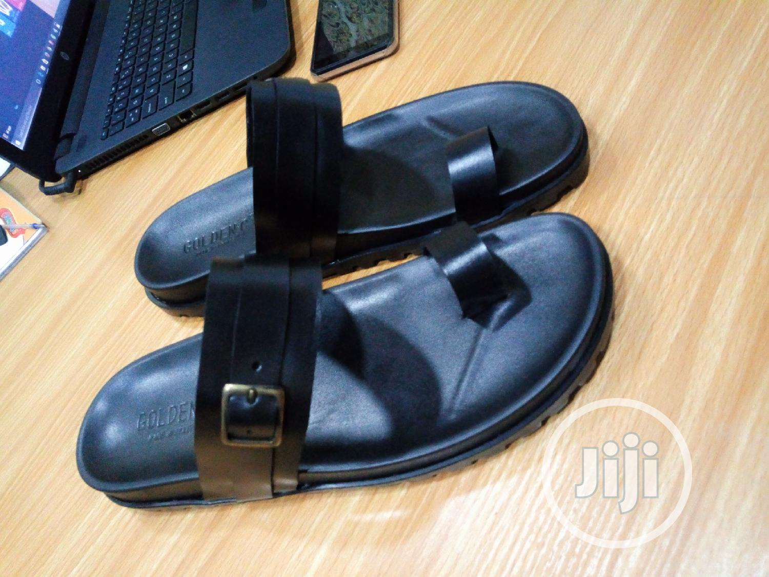1st Class Brown Leather Palm, Slip On, Slippers, Sandals | Shoes for sale in Mushin, Lagos State, Nigeria