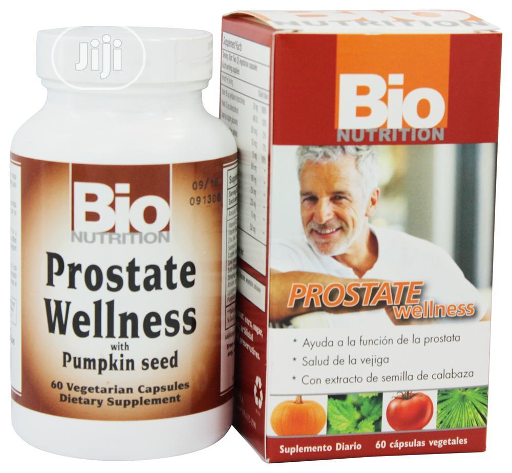 Bionutrition Prostate Wellness W/ Pumpkin Seed Nettle- 60 Veg Caps