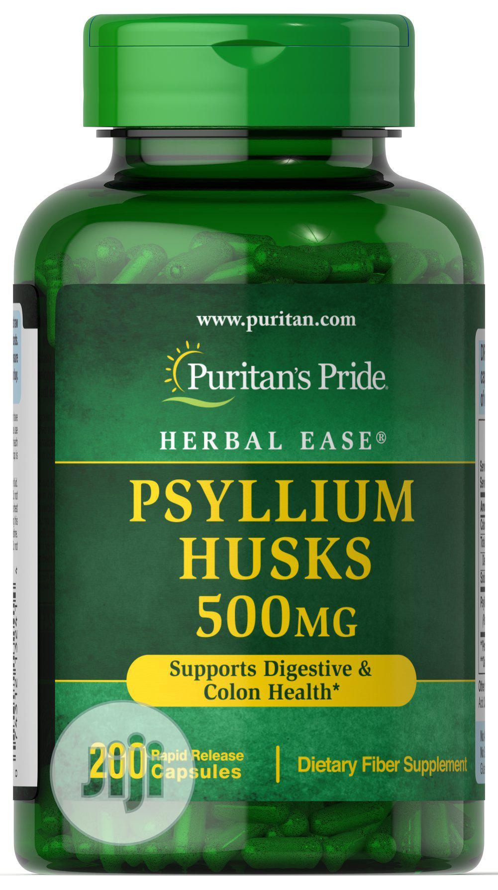 Psyllium Husks 500 Mg -To Relieve Constipation Diarrhea