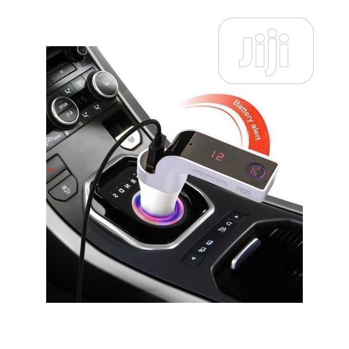 G7 Bluetooth Handsfree Car FM Transmitter Modulator MP3 Player Radio | Vehicle Parts & Accessories for sale in Ikeja, Lagos State, Nigeria