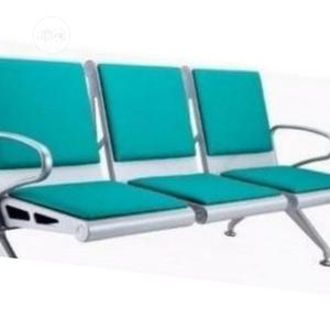 First String Leather Padded Airport Bench   Furniture for sale in Lagos State, Badagry