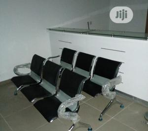 Leather Padded Office Reception Bench | Furniture for sale in Lagos State, Ikeja