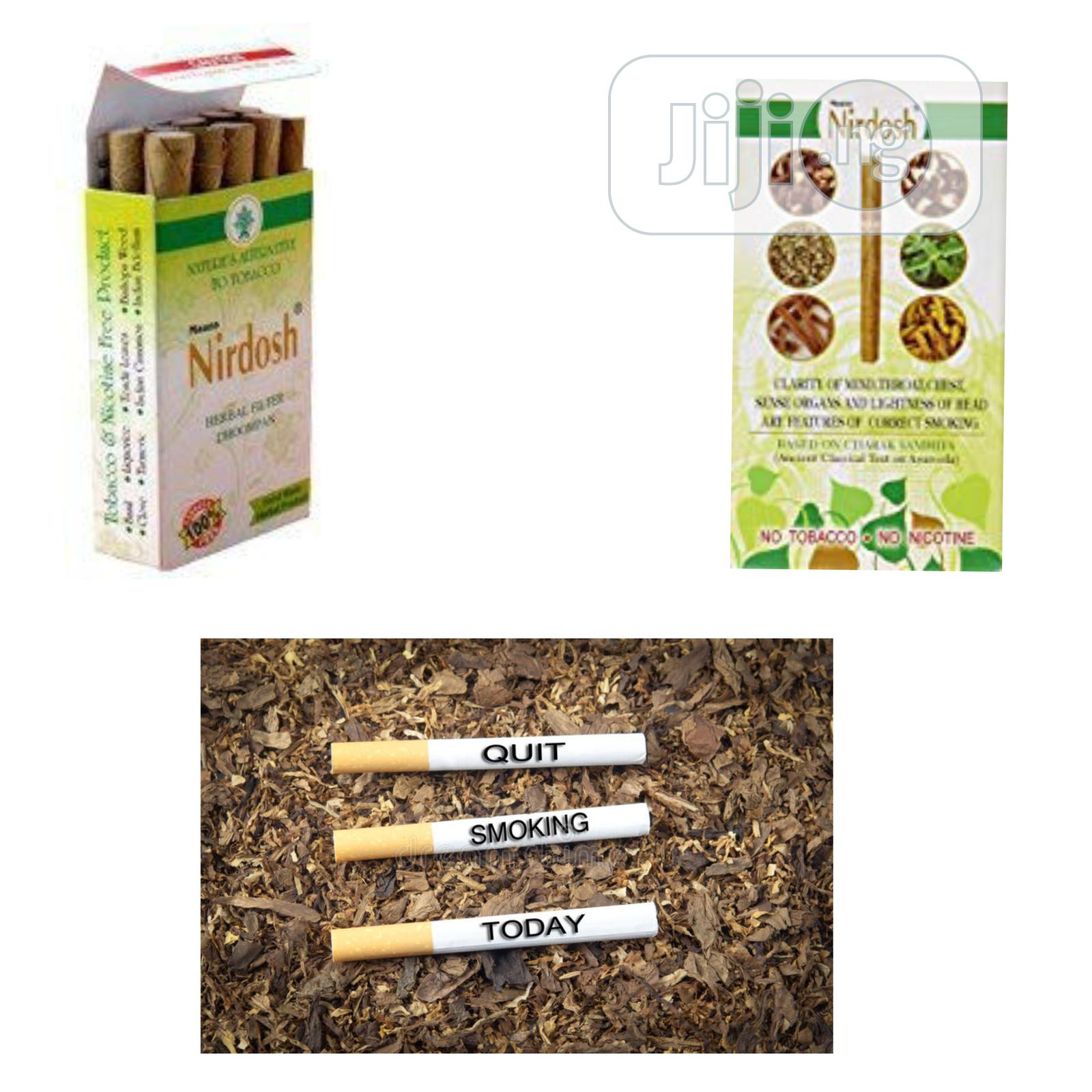 Is Time to Quit Smoking With Nirdosh Herbal Remedy