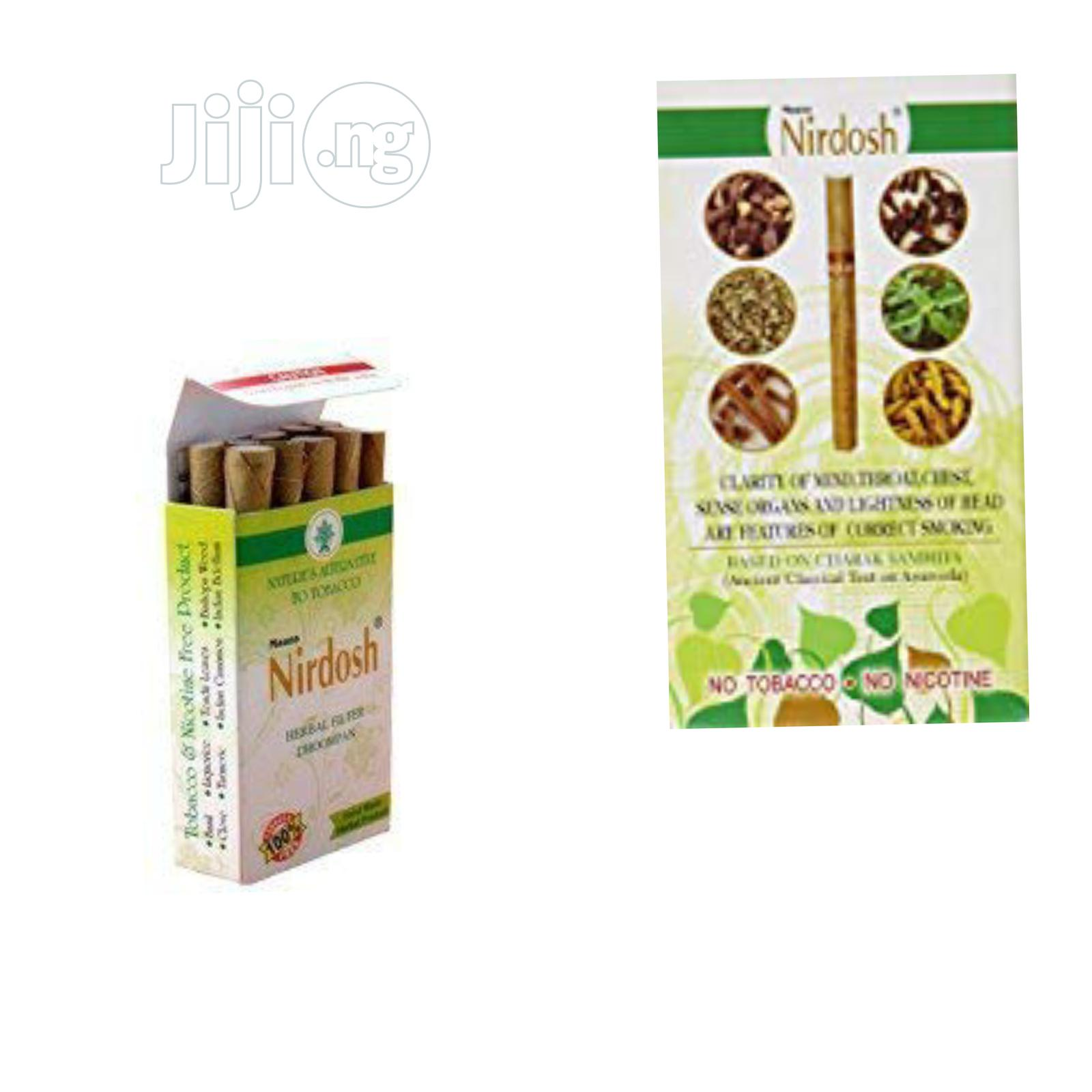 Is Time to Quit Smoking With Nirdosh Herbal Remedy | Vitamins & Supplements for sale in Lagos State, Nigeria