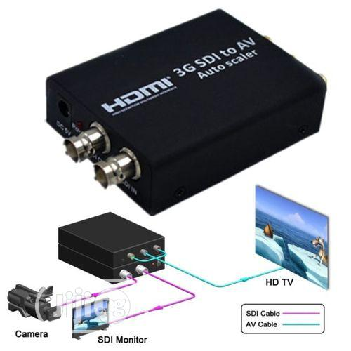 Sdi 3G to AV Converter/ Audio Scaler