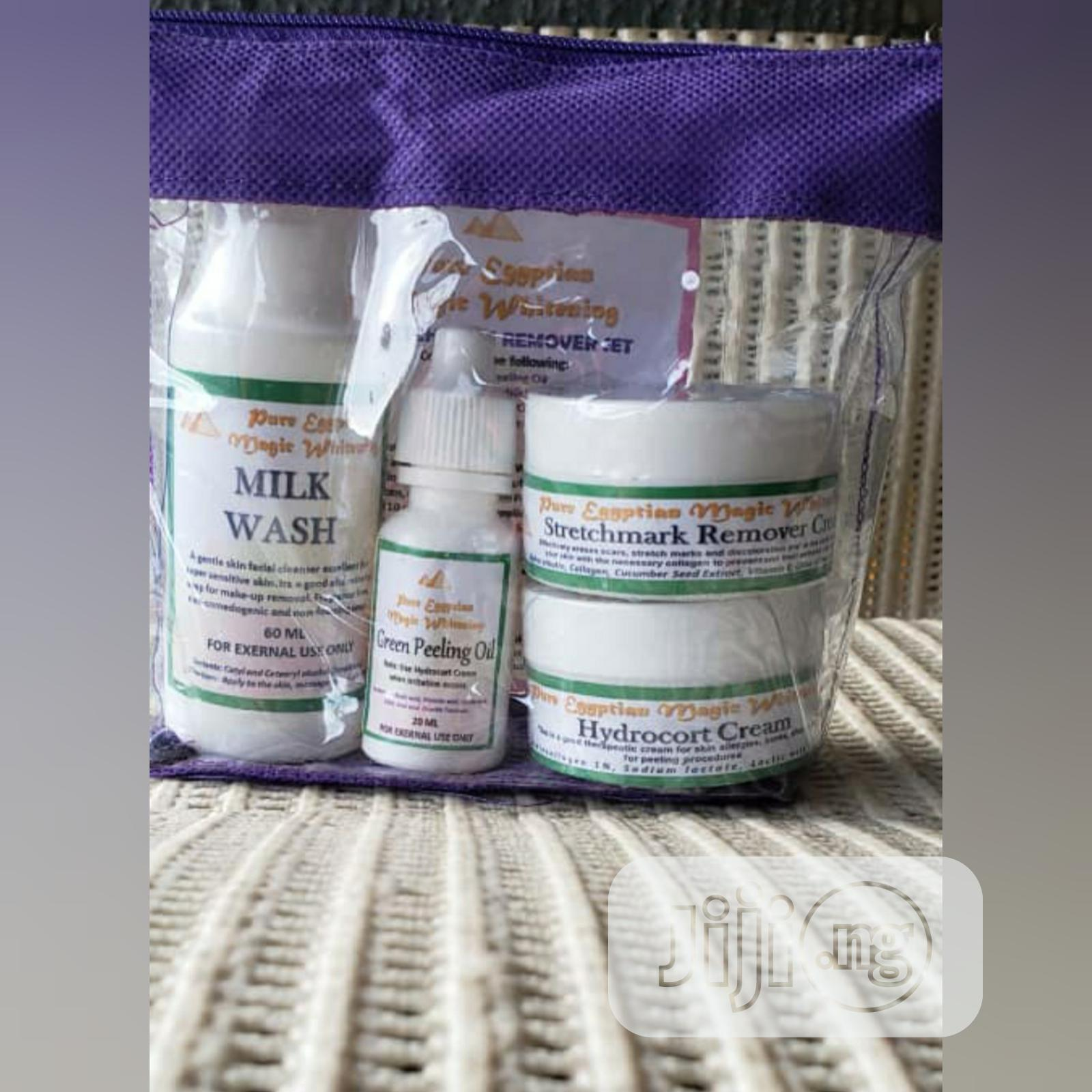 Pure Egyptian Whitening Set | Skin Care for sale in Lagos State, Nigeria