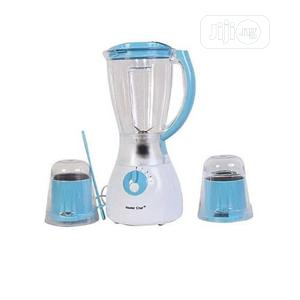 Master Chef Electric Blender With 2 Mills- Multicolored   Kitchen Appliances for sale in Lagos State