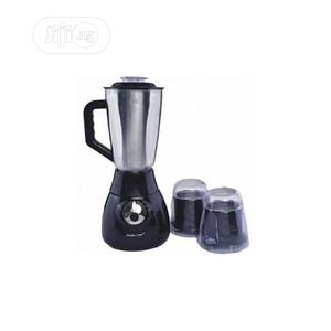 Master Chef 3 in 1 Stainless Blender With Mills   Kitchen Appliances for sale in Lagos State