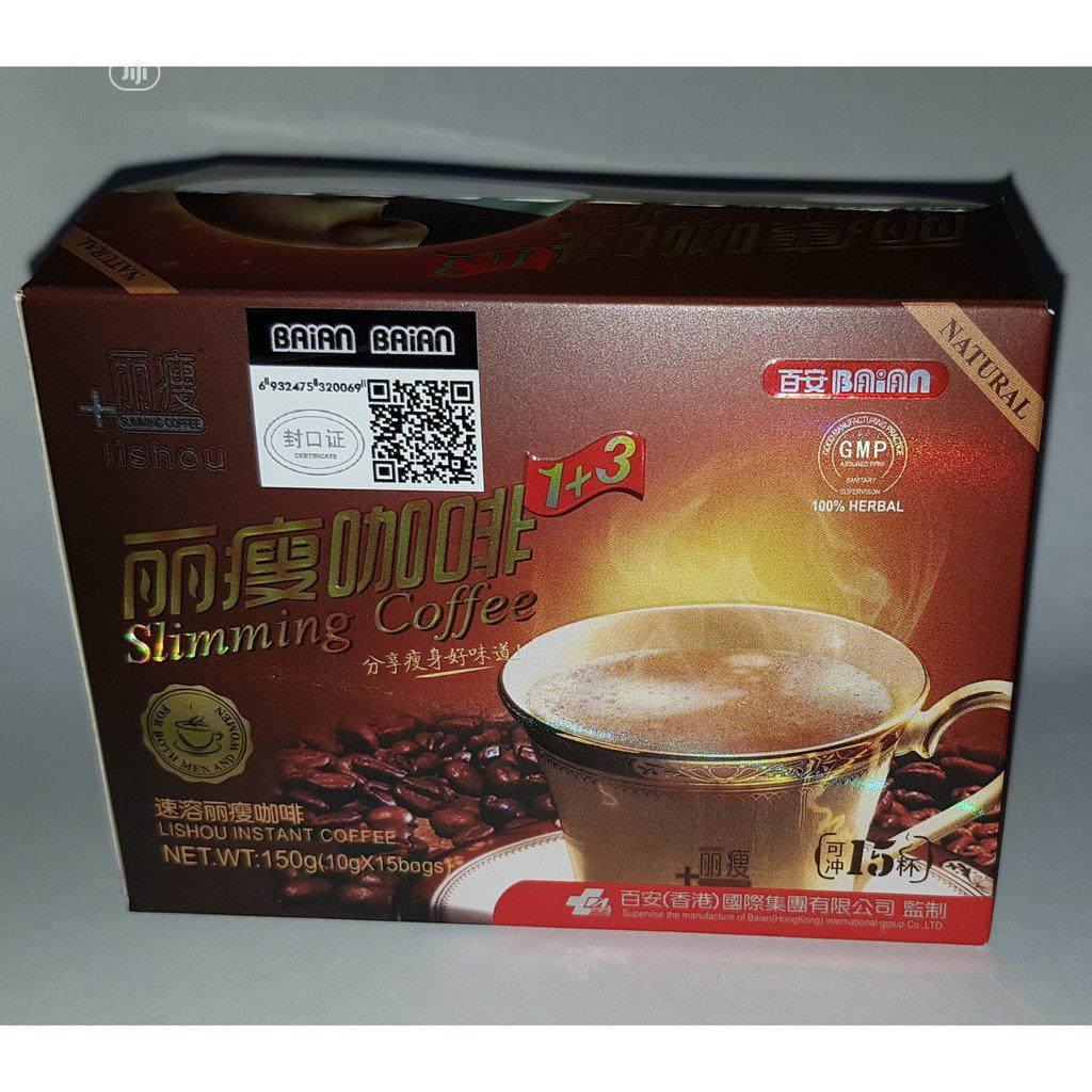 Lishou Instant Slimming Coffee | Vitamins & Supplements for sale in Lagos State, Nigeria