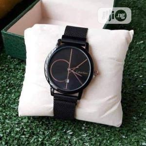 Calvin Klein (CK) Black Net Chain Watch for Women's | Watches for sale in Lagos State, Lagos Island (Eko)