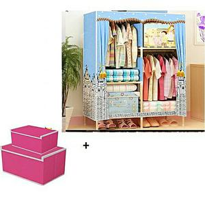 Universal Chef Double Column Wardrobe With Storage Boxes   Furniture for sale in Oyo State, Ido