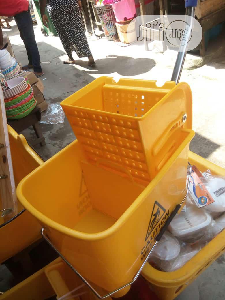 Archive: Industrial Mop Bucket