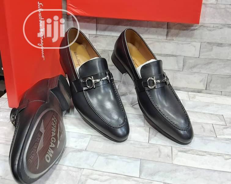 Original Salvador Ferragamo Men's Quality Leather Shoes   Shoes for sale in Lagos Island, Lagos State, Nigeria