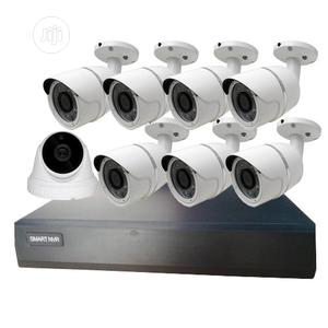 8CH (1-Indoor, 7-Outdoor, 2MP, 30M IR) IP Network Camera Kit   Security & Surveillance for sale in Lagos State, Yaba