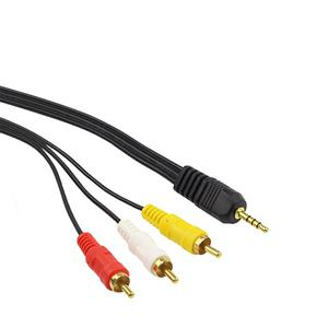 3.5mm Male To 3-RCA AV Cable (1.5M)   Accessories & Supplies for Electronics for sale in Lagos State, Ikeja