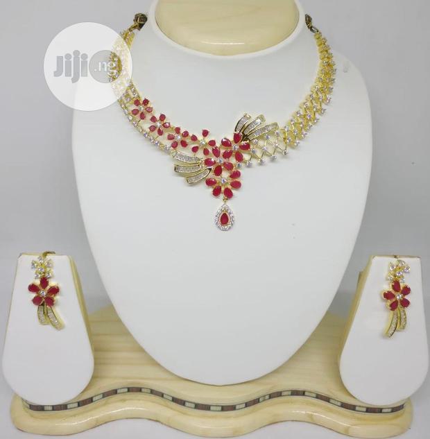 Cubic Zirconia Jewelry Set - CZ015