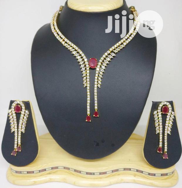 Cubic Zirconia Jewelry Set - CZ006