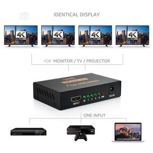 1x4 HDMI Splitter V1.4 (1 Input 4 Output) Support Full Ultra HD 4K/2K | Accessories & Supplies for Electronics for sale in Lagos State, Ikeja