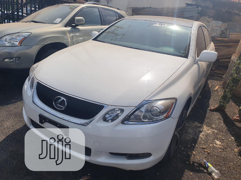 Lexus GS 2008 350 White | Cars for sale in Ibadan, Oyo State, Nigeria