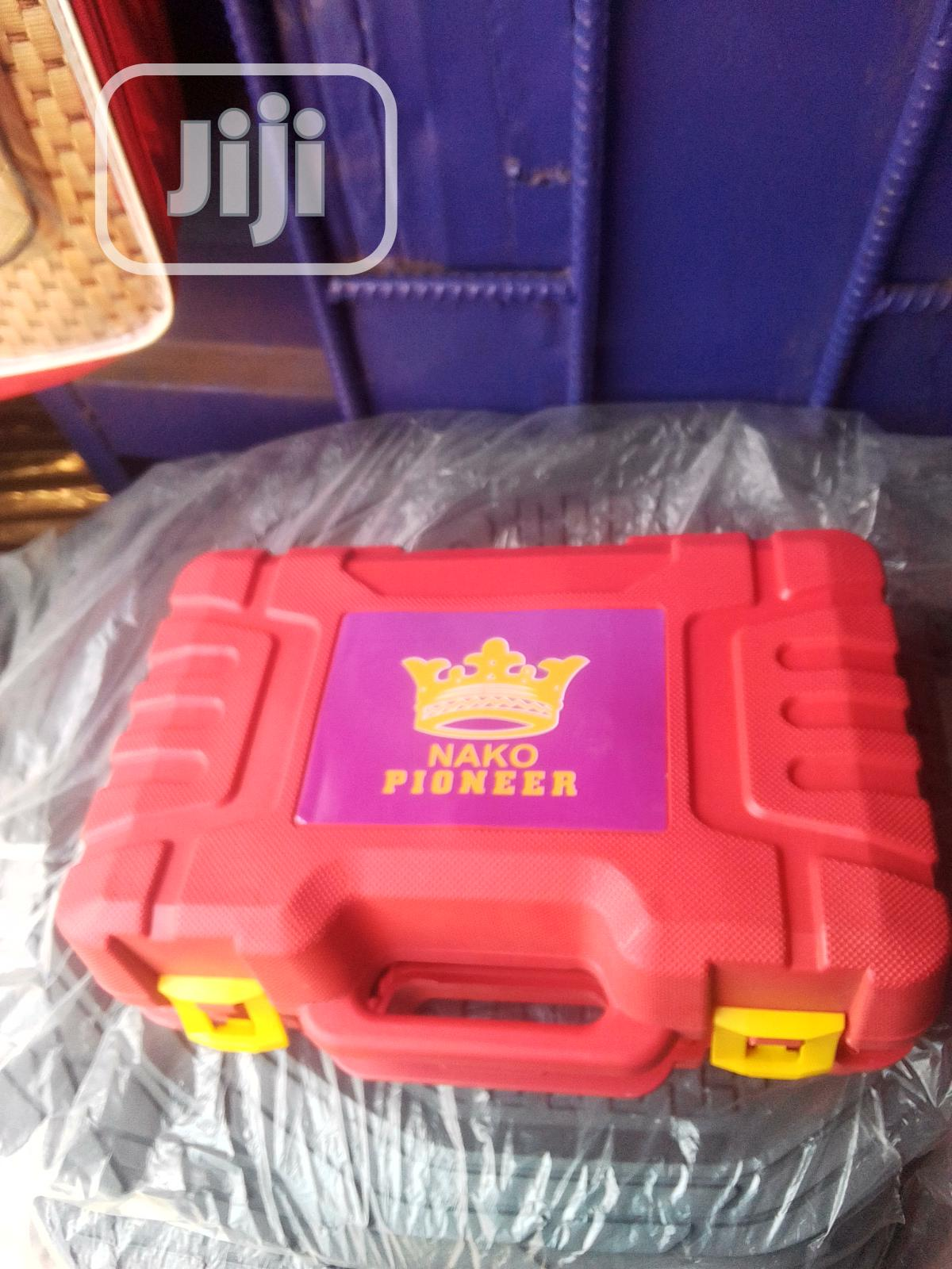 Tyre Pump With Tool Box   Hand Tools for sale in Alimosho, Lagos State, Nigeria