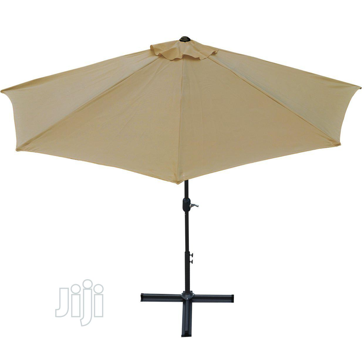 New & Portable Outdoor Parasol Umbrella. | Garden for sale in Ikeja, Lagos State, Nigeria