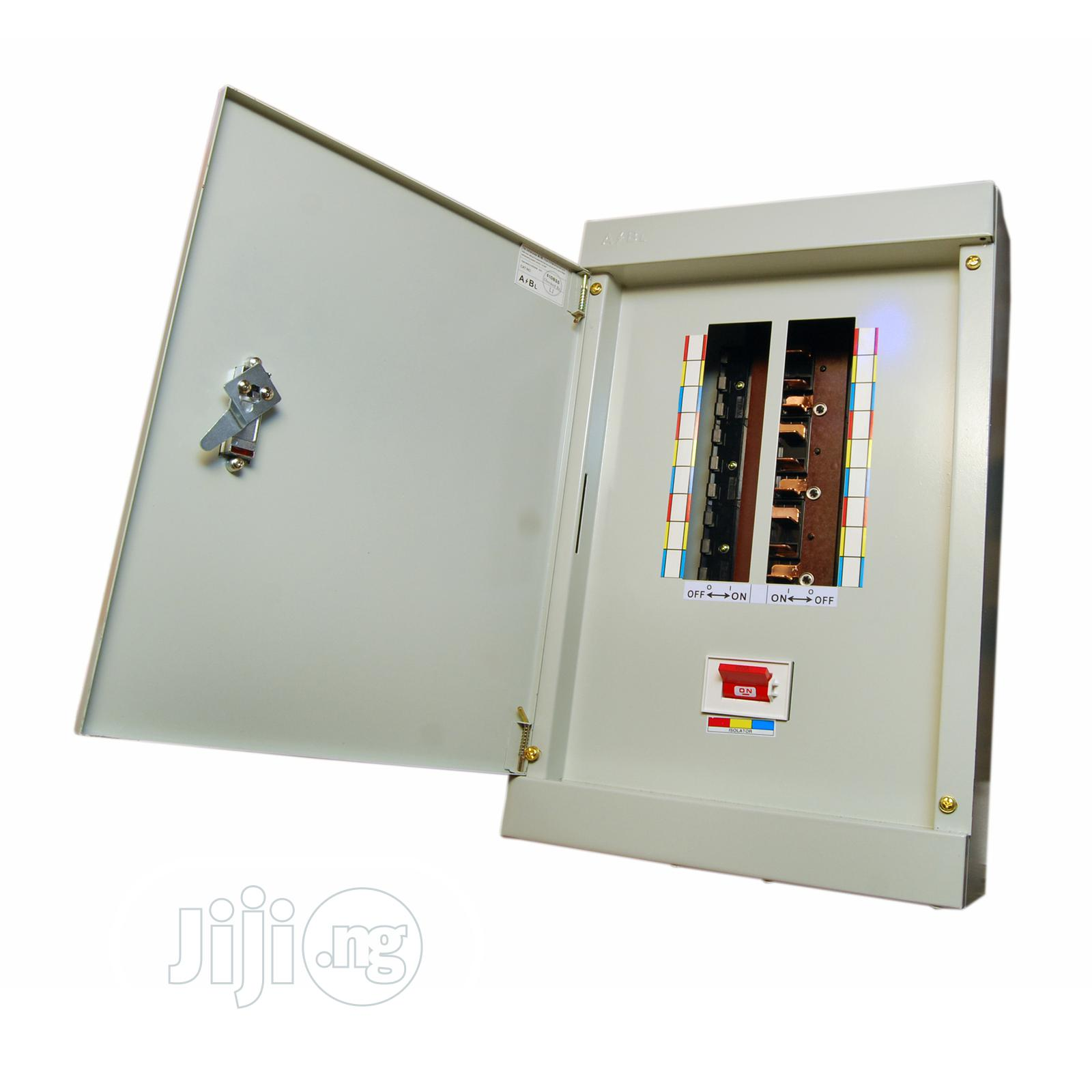 Abb 18ways Distribution Board- D6 Tpn(3phase)