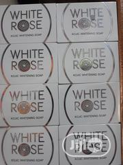 White Rose Kojic Whitening Soap With Shea Butter Skin Lightening | Bath & Body for sale in Lagos State