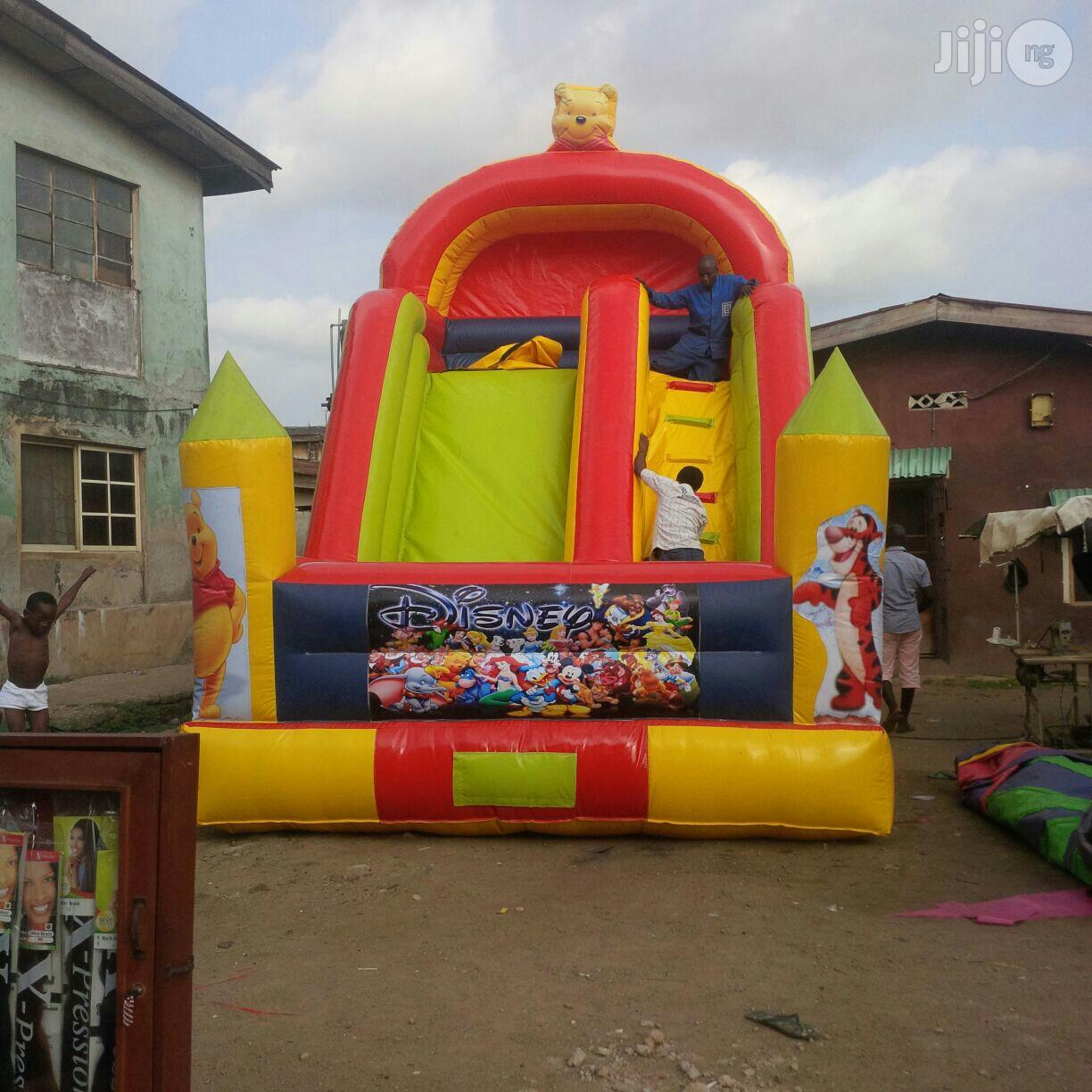 New Bouncy Castle With Slide Climber And Bouncer
