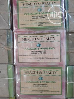 Health and Beauty Collagen Instant Whitening Soap | Skin Care for sale in Lagos State
