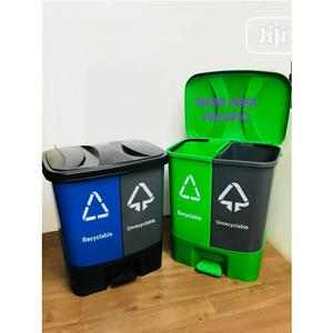 20 Litres 2 In 1 Pedal Waste Bin   Home Accessories for sale in Lagos State, Lagos Island (Eko)