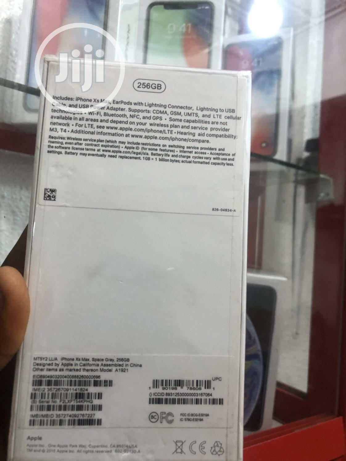 New Apple iPhone XS Max 256 GB Gray   Mobile Phones for sale in Ikeja, Lagos State, Nigeria