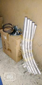 All In One Street Light Short Poles 2 Meters Fit | Garden for sale in Kaduna State, Kaduna
