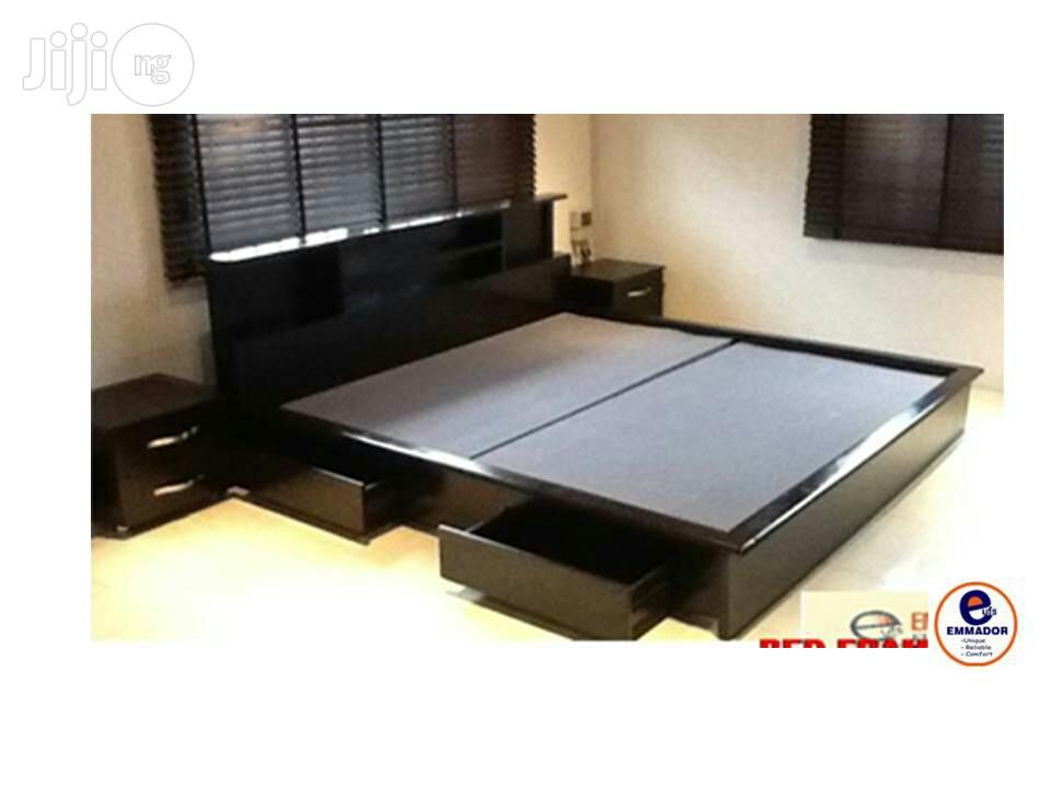Master Bed With Storage