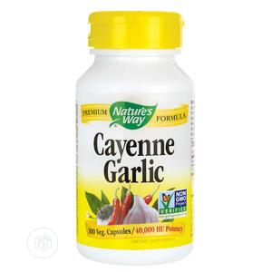 Nature's Way Cayenne Garlic - 100 Capsules | Vitamins & Supplements for sale in Lagos State, Ipaja