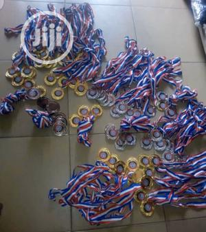 Sports Medal (Gold,Silver And Bronze)   Arts & Crafts for sale in Lagos State