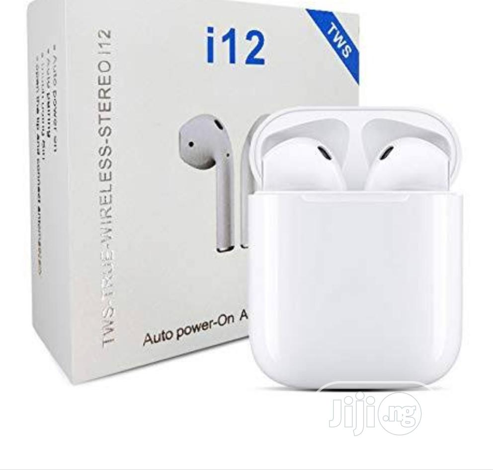 I12 And I13 Air Wireless Bluetooth With Free Silicone Case