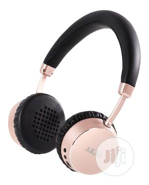 Akai A58044R Dynamx Wireless Headphones With Bluetooth - Rose Gold | Headphones for sale in Lagos State, Ikeja