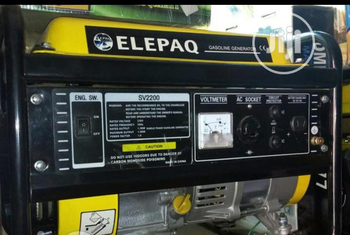 Elepaq Generator SV2200 | Electrical Equipment for sale in Ikeja, Lagos State, Nigeria