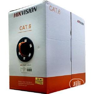 Hikvision Cat6 Utp Cable (Pure Copper) 305 Meters | Accessories & Supplies for Electronics for sale in Lagos State, Ikeja