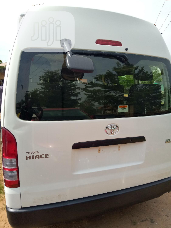 Toyota Hiace 2018 White | Buses & Microbuses for sale in Garki 2, Abuja (FCT) State, Nigeria