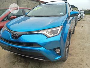 Toyota RAV4 2017 XLE FWD (2.5L 4cyl 6A) Blue | Cars for sale in Lagos State, Amuwo-Odofin