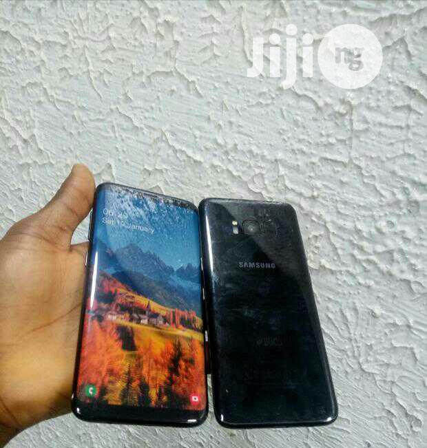 Samsung Galaxy S8 64 GB Black   Mobile Phones for sale in Ikeja, Lagos State, Nigeria