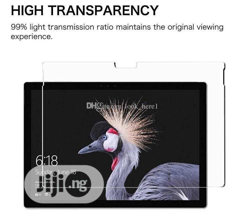Shockproof Premium Tempered Glass For Surface Pro 6 / 5 / 4 /   Accessories for Mobile Phones & Tablets for sale in Ikeja, Lagos State, Nigeria