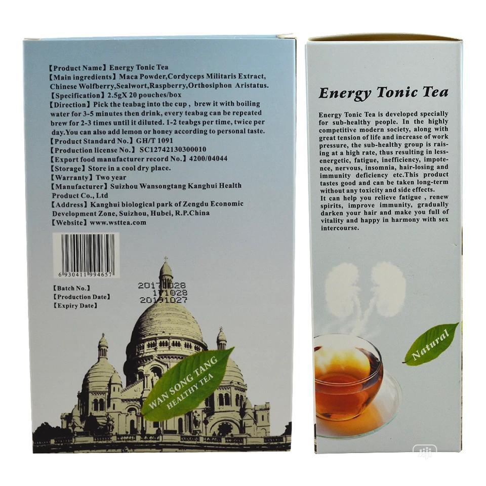 Energy Tonic and Kidney Health Tea