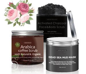 Arabica Coffee Scrub, Activated Charcoal, Dead Sea Mud Mask: 3in1   Skin Care for sale in Lagos State, Amuwo-Odofin