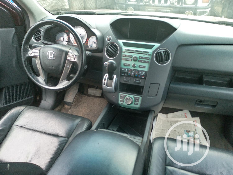 Honda Pilot 2008 VP 4dr 4x4 (3.5L 6cyl 5A) Red | Cars for sale in Amuwo-Odofin, Lagos State, Nigeria