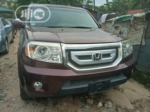 Honda Pilot 2008 VP 4dr 4x4 (3.5L 6cyl 5A) Red | Cars for sale in Lagos State, Amuwo-Odofin